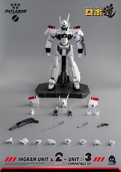 ThreeZero Patlabor ROBO-DOU INGRAM UNIT 2 + UNIT 3 Compatible Set