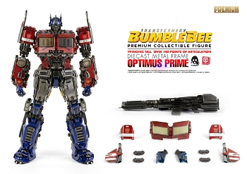 ThreeZero Bumblebee Movie PREMIUM Scale OPTIMUS PRIME