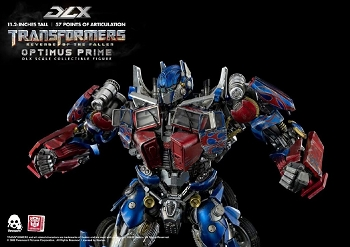 ThreeZero Transformers Revenge of the Fallen DLX Scale OPTIMUS PRIME