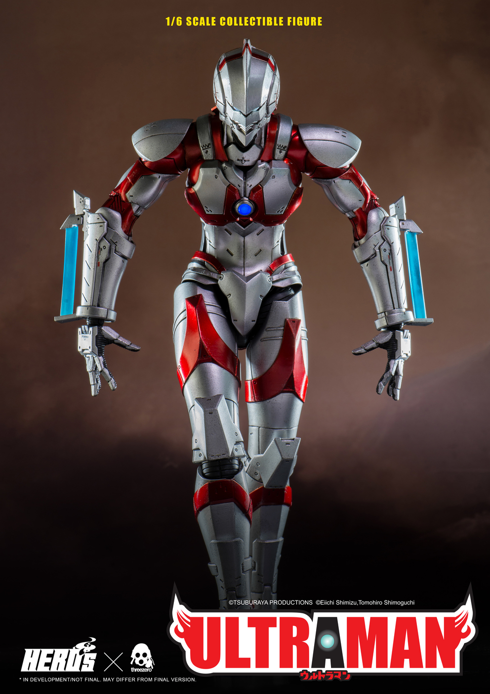 World of 3A ULTRAMAN SUIT 1/6 Scale Collectible Figure