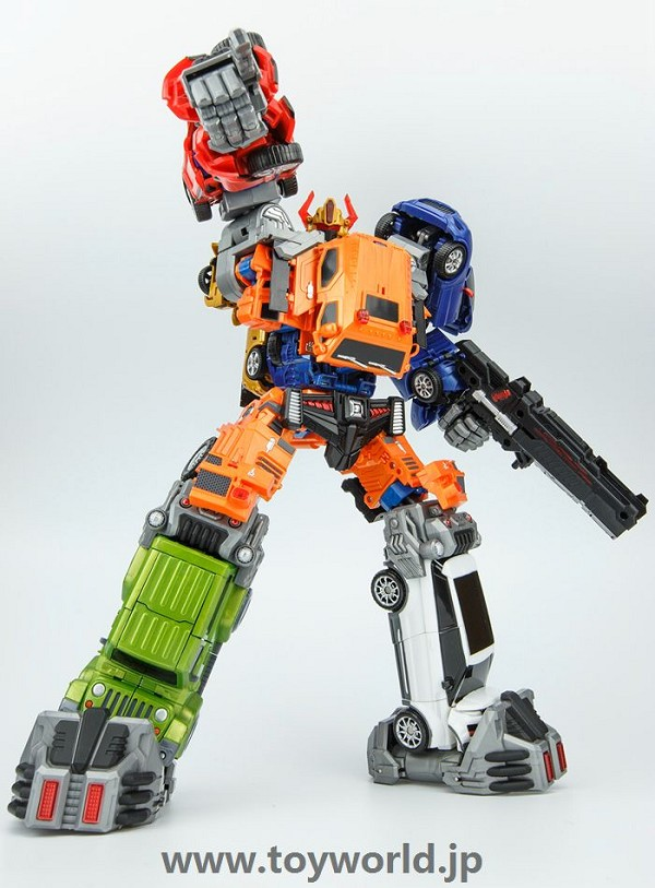 Toyworld TWT THROTTLER Combiner Set