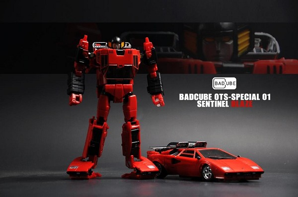 Bad Cube OTS-Special 01 Sentinel BLAZE