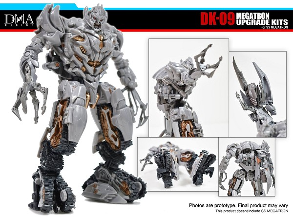 DNA Design DK-09 Upgrade Kit for Studio Series Megatron
