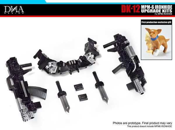 DNA Design DK-12 Upgrade Kit for MPM-6 Ironhide