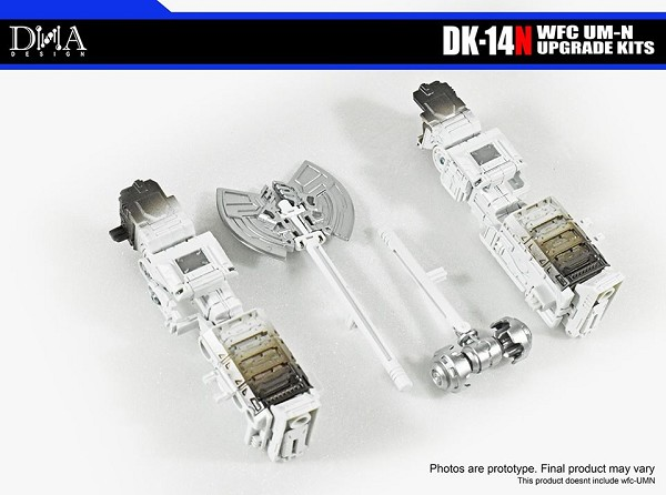 DNA Design DK-14N Upgrade Kit for Netflix Transformers Siege Ultra Magnus