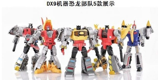 DX9 Toys War in Pocket DINOBOT GIFT SET