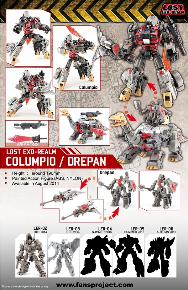 Fans Project LER-01 Columpio and Drepan