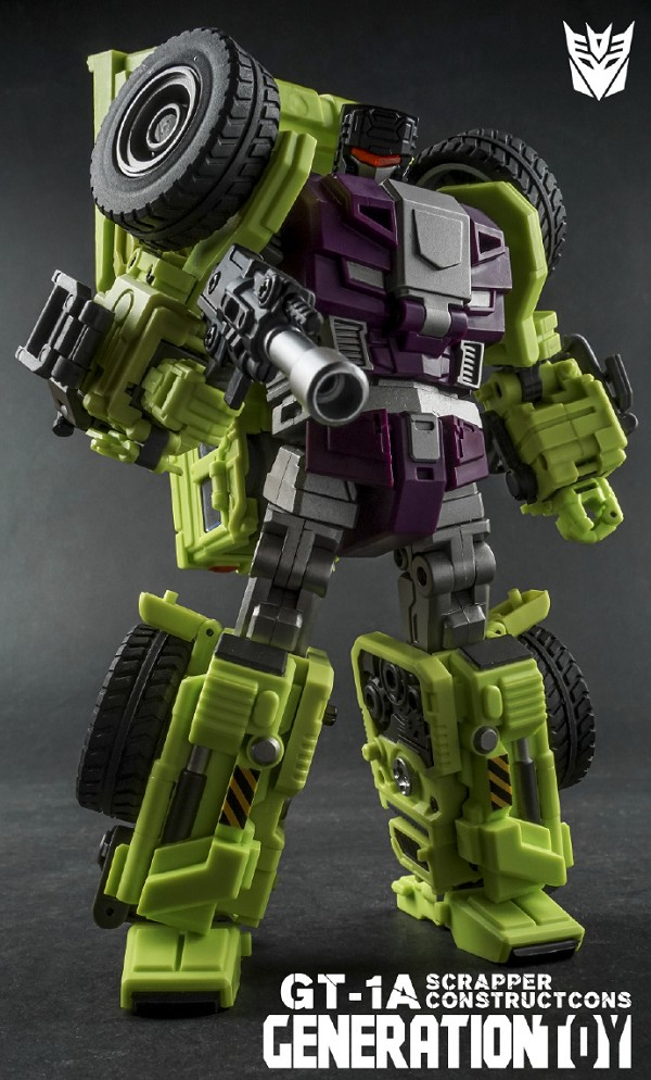 Generation Toy Gravity Builder GT-01A SCRAPER
