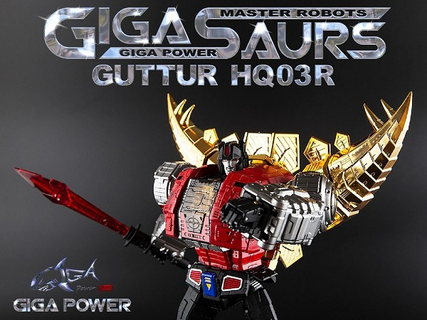 Gigapower GUTTUR CHROME (2018 Reissue)