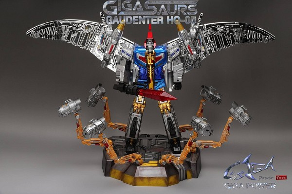 Gigapower HQ-05R GAUDENTER (Chrome Version - Blue Chest)