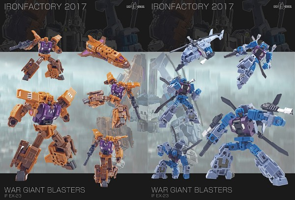 Iron Factory EX23 WAR GIANT (Set B)