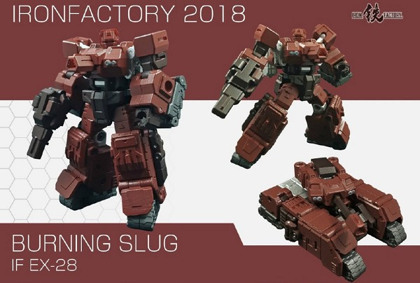 Iron Factory EX28 BURNING SLUG