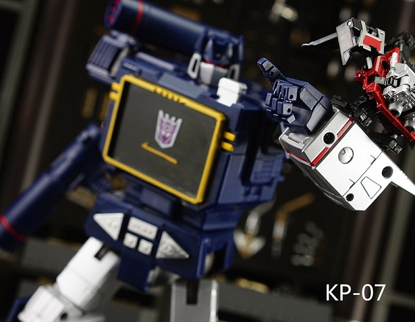 KFC Toys KP-07 Articulated hands for MP-13 Soundwave
