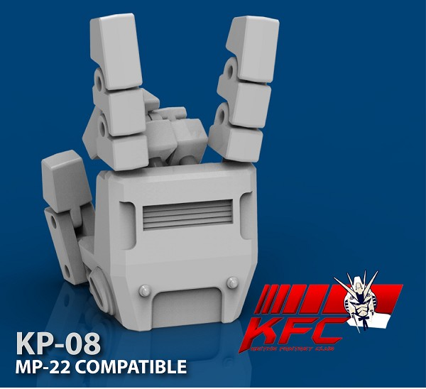 KFC Toys Articulated hands for MP-22 Ultra Magnus