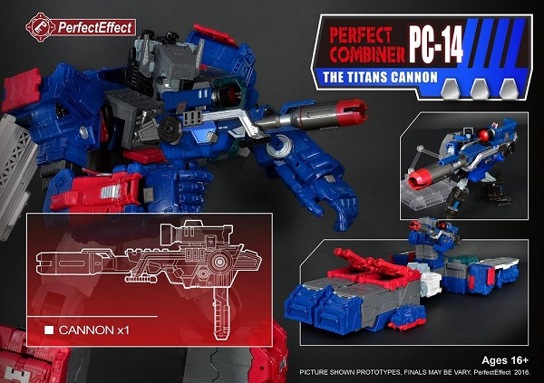 Perfect Effect Perfect Combiner PC-14 The Titans Cannon
