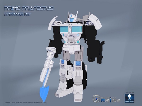 S.N.D. PRIMO PRAFECTUS Upgrade Kit for CW Battle Core Optimus Prime