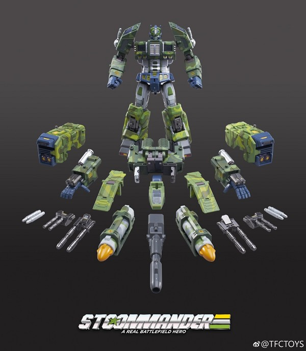TFC Toys ST-01A SUPREME TACTICAL COMMANDER (JUNGLE CAMO)