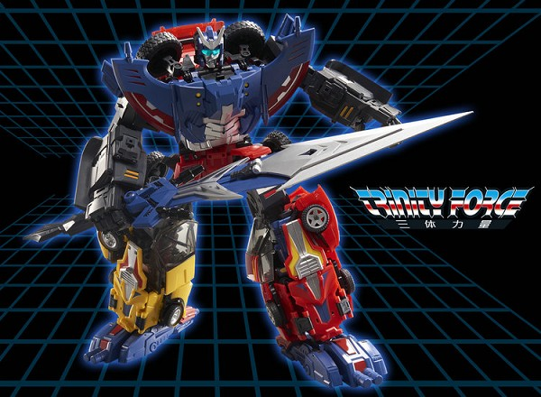 TFC Toys Trinity Force SET