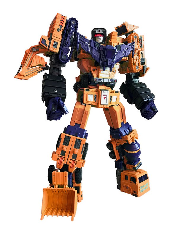 Toyworld TW-C07E ORANGE CONSTRUCTOR Full Box Set
