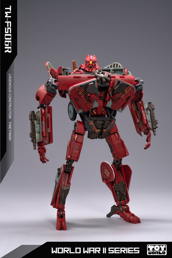 Toyworld TW-FS06R RED BARON (Limited Edition)