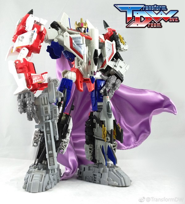 Transform Dream Wave TCW-07 Upgrade kit for POTP Starscream Combiner