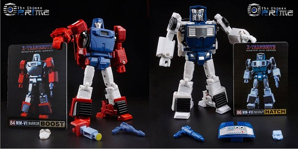 X-Transbots MM-VI BOOST and MM-VII HATCH (2019 Reissue)
