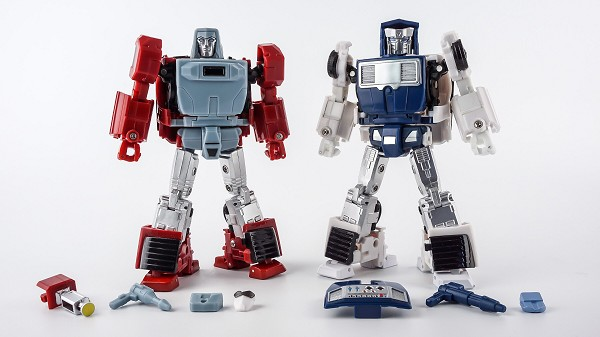 X-Transbots MM-VI BOOST and MM-VII HATCH Toy Colors (2019 Reissue)