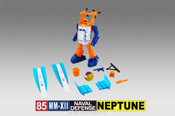 X-Transbots MM-XII NEPTUNE