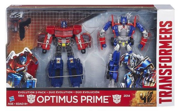 Hasbro OPTIMUS PRIME EVOLUTION 2 Pack