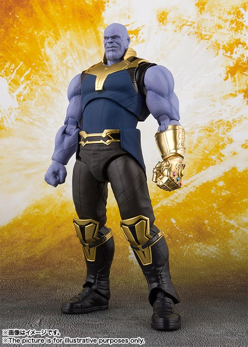 S H Figuarts Avengers Infinity War Thanos
