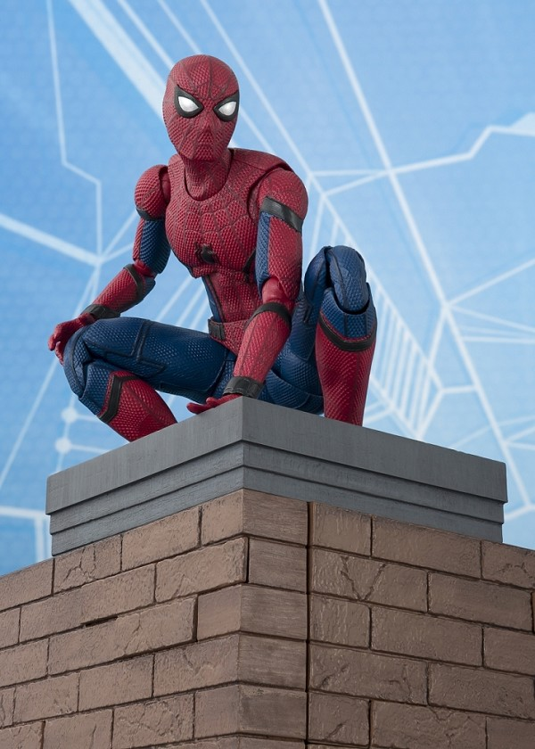 S.H. Figuarts SPIDER-MAN HOMECOMING with Option ACT Wall