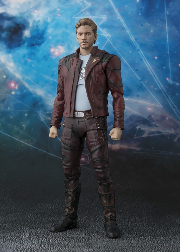 S.H. Figuarts STAR LORD with Tamashii Explosion Effect