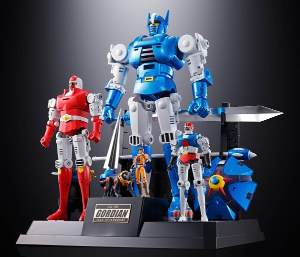 "Bandai Soul of Chogokin GX-95 GORDIAN ""Gordian the Warrior"""