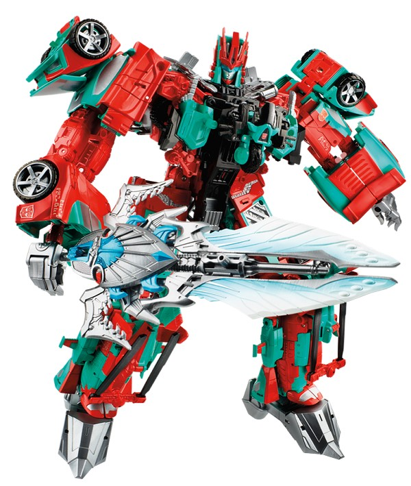 Hasbro Fan Built Combiner Wars - VICTORION