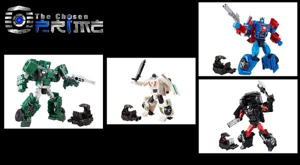 Hasbro Combiner Wars - 2016 Wave 2 Deluxe set