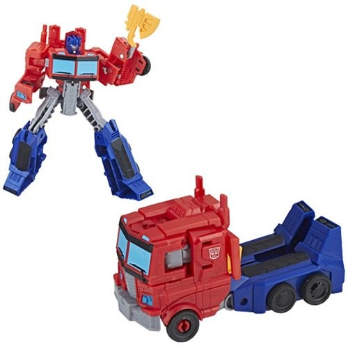 Hasbro Transformers Cyberverse Wave 2 WARRIOR Class OPTIMUS PRIME