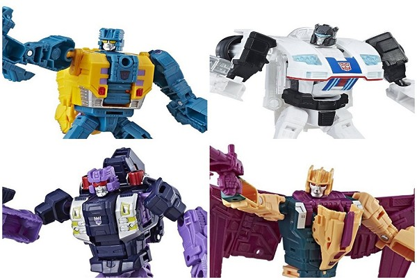 Power of the Primes DELUXE Wave 3 Assortment Set of 4