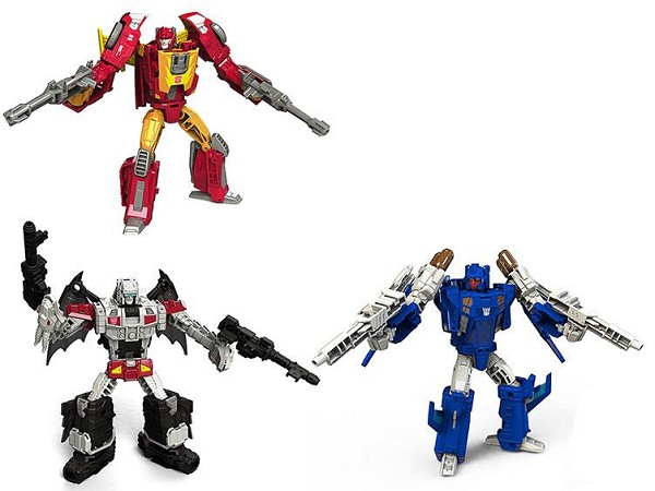 Hasbro Titans Return Deluxe Wave 3 HOT ROD, TRIGGERHAPPY, and TWINFERNO (Set)