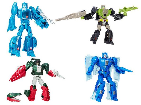 Hasbro Titans Return Deluxe Wave 1