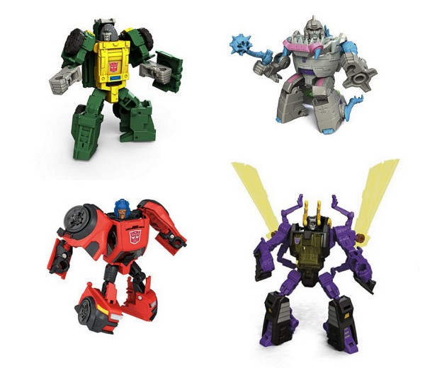 Hasbro Titans Return Legends Wave 4 - Brawn, Roadburn, Kickback, and Gnaw