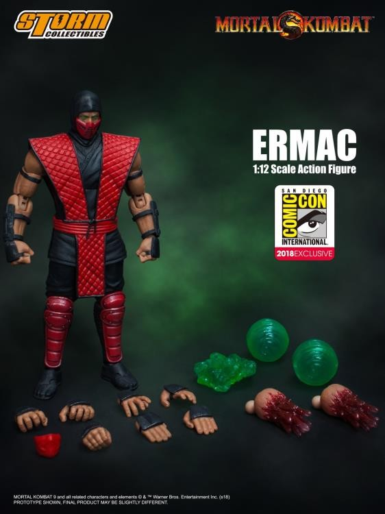 Storm Collectibles Mortal Kombat ERMAC SDCC 2018 Exclusive