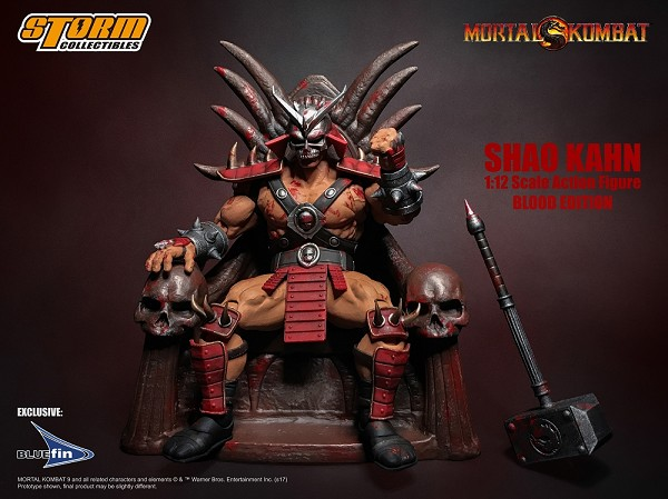 Storm Collectibles Mortal Kombat SHAO KAHN & THRONE (Special Edition)