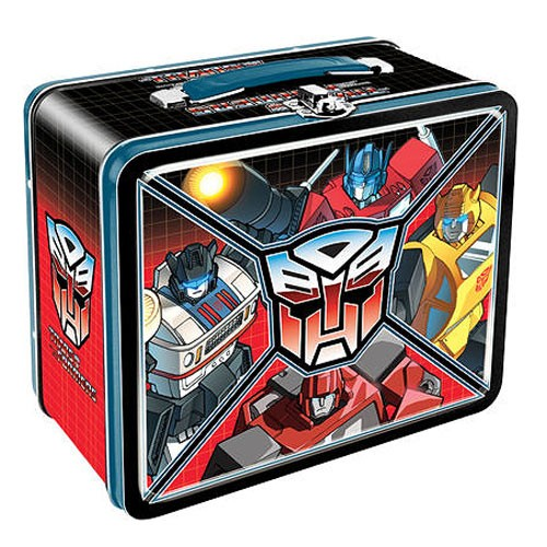 Transformers AUTOBOT TIN LUNCH BOX