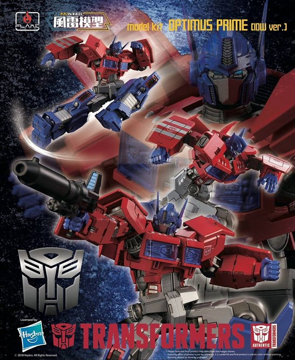 Flame Toys Furai Model 03 OPTIMUS PRIME (IDW)