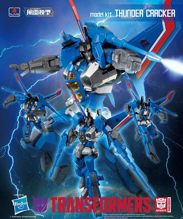 Flame Toys Furai Model 06 THUNDERCRACKER