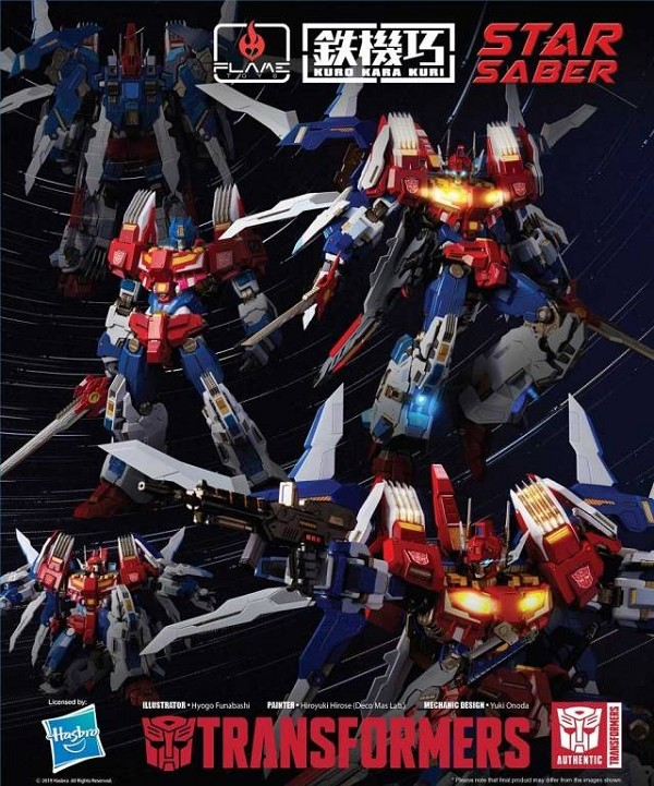 Flame Toys Transformers STAR SABER