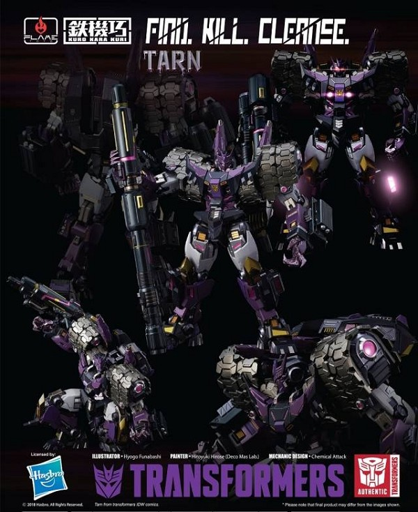 Flame Toys Transformers TARN