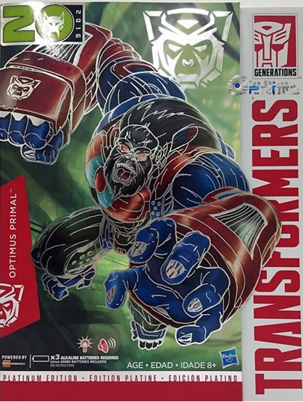 Year of the Monkey Platinum Edition OPTIMUS PRIMAL