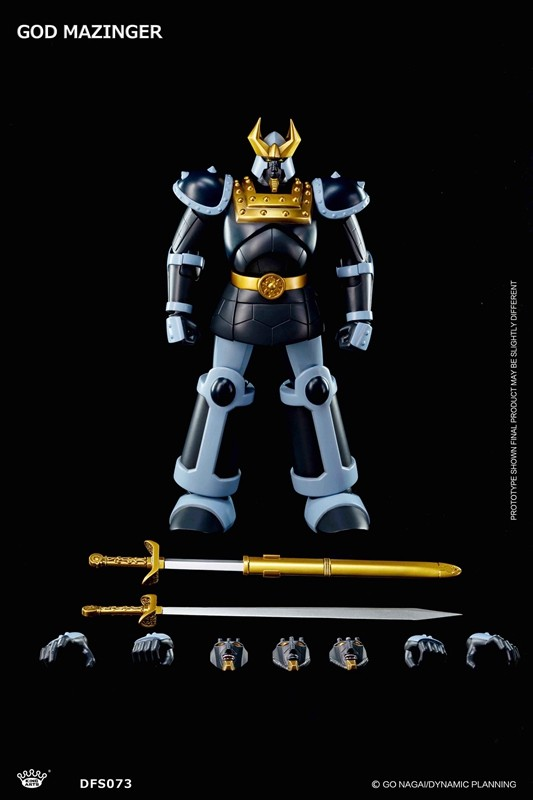 King Arts DFS073  Dynamic Planning  Diecast Action GOD MAZINGER