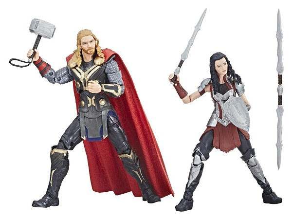 Marvel Legends Cinematic Universe 10th Anniversary: THOR & SIF